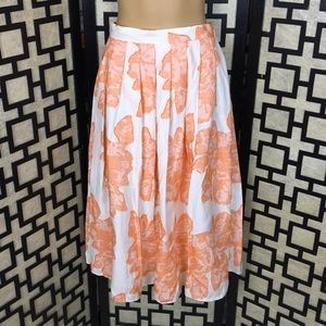 Anthropologie Hutch Arboretum Skirt